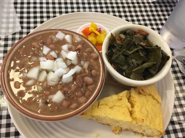 Bonnie's bday lunch in Floyd VA
