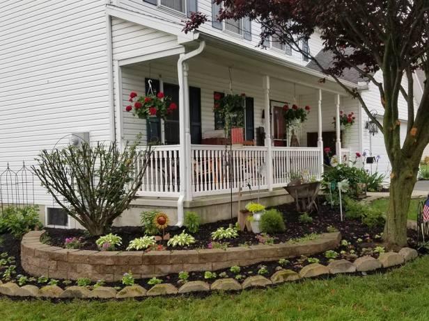 Landscape planter at Aja house