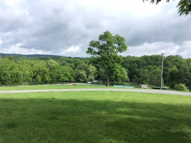 RV site at Walnut Hills in Staunton VA