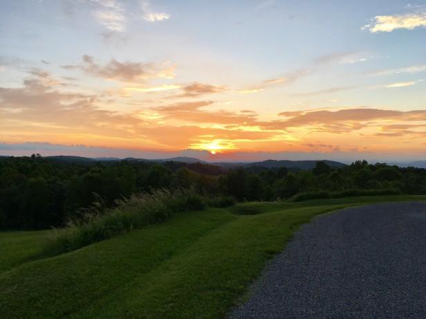 Sunset 2 at Virginia Highland Haven park