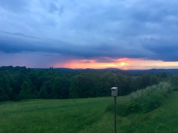 Sunset at Virginia Highland Haven