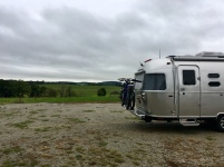 Free overnight parking at the winery