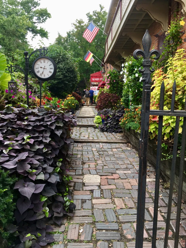 Entrance to 32 room bookstore in German Village