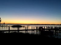 Beautiful sunset at Buckeye Lake