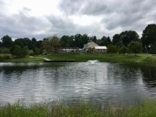 Nice pond near gardens
